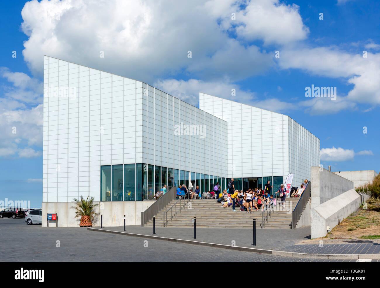 La galerie d'art contemporain Turner à Margate, Kent, England, UK Photo Stock