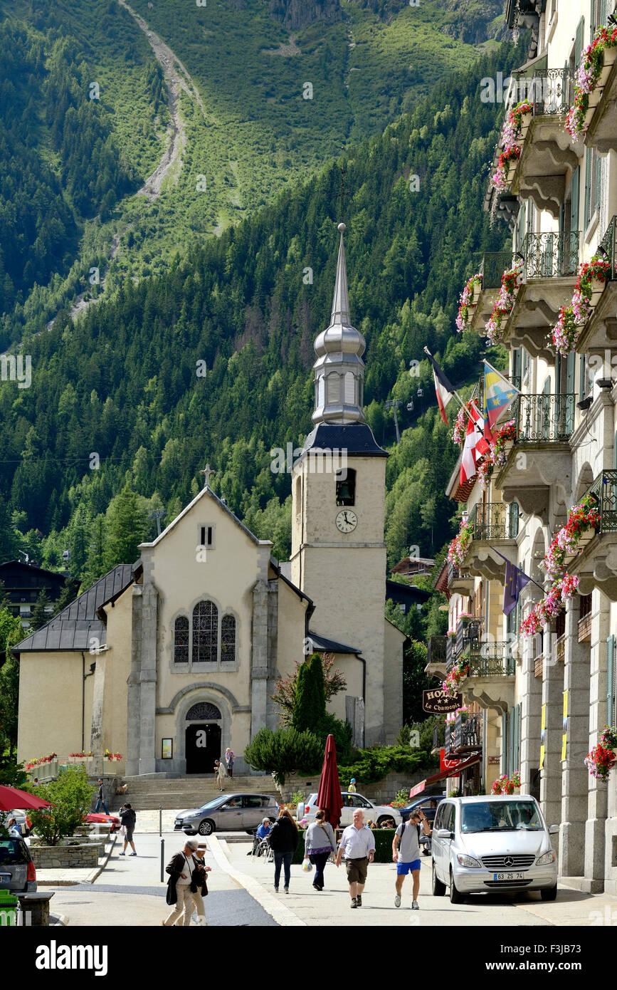 Fabuleux Église Saint-Michel et Hôtel de Ville (mairie), Chamonix Mont #OM_96