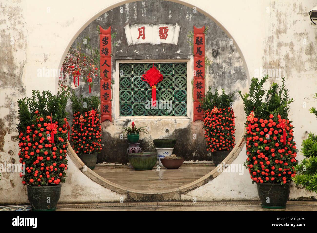 La Chine, Macao, Mandarin's House, Photo Stock