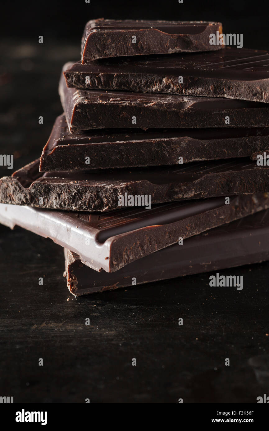 Chocolat noir Photo Stock