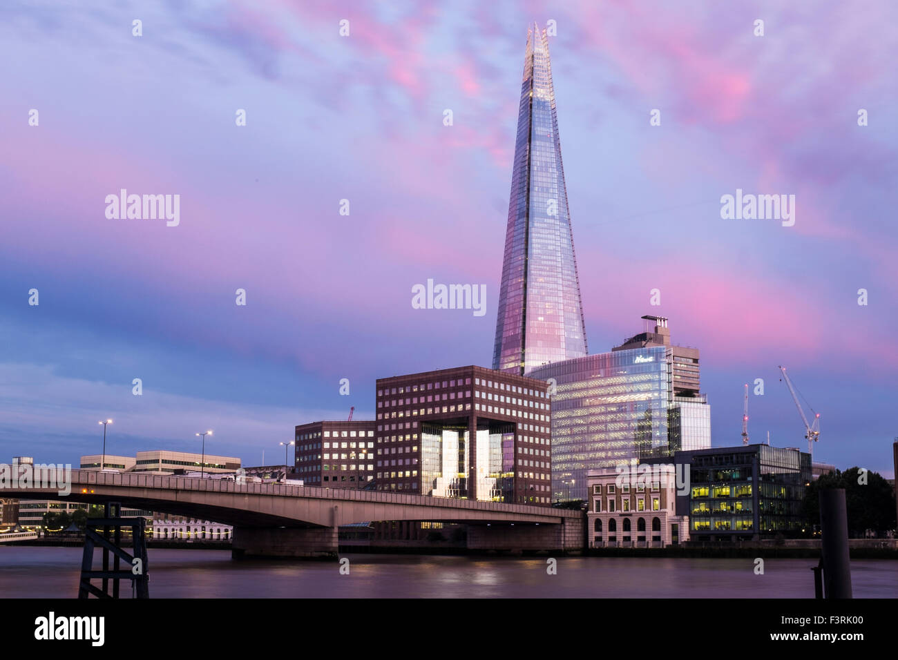 Le Shard, Southwark, Londres, Royaume-Uni Photo Stock