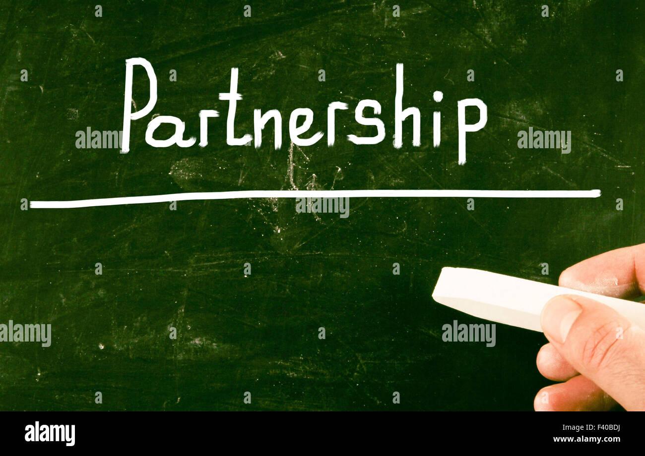 Concept de partenariat Photo Stock