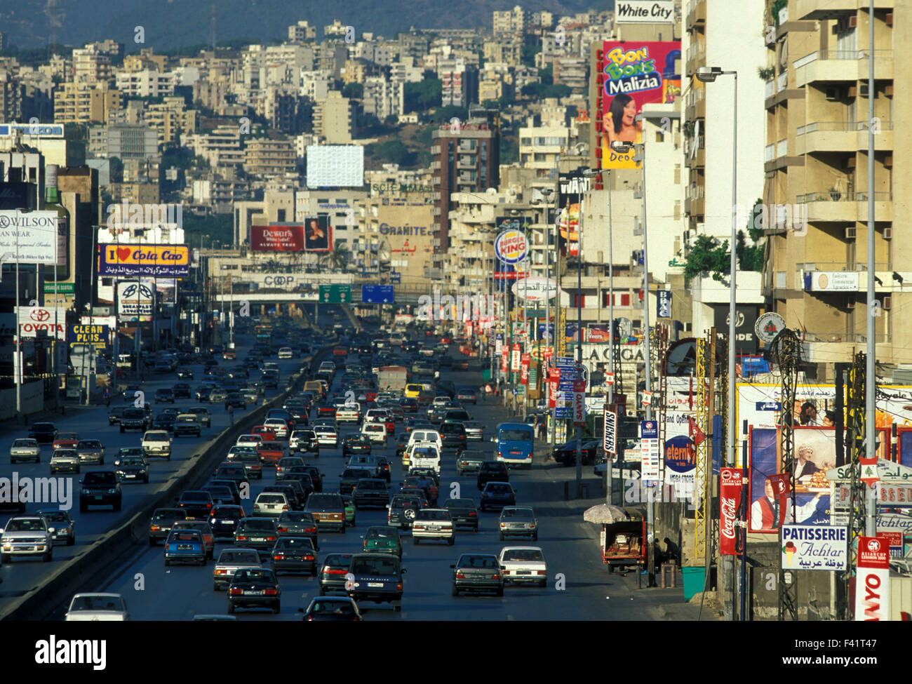 Moyen ORIENT LIBAN BEYROUTH Photo Stock