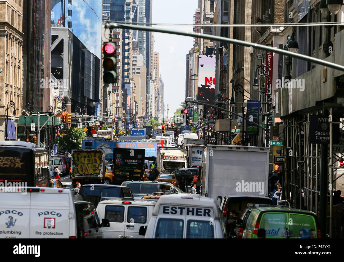 Rues de New York Banque D'Images