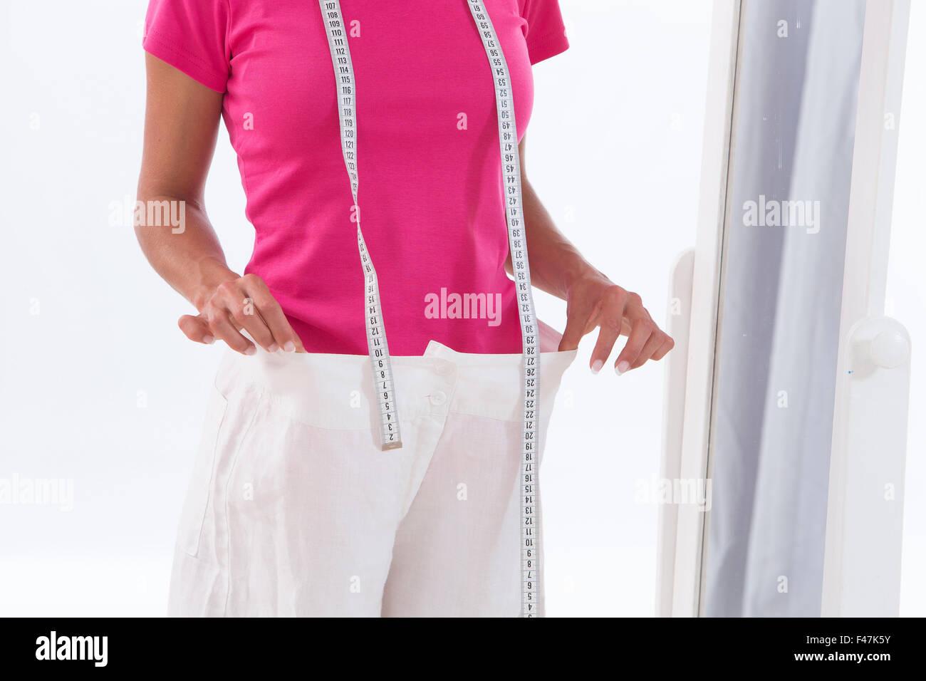 ALIMENTATION, FEMME Photo Stock
