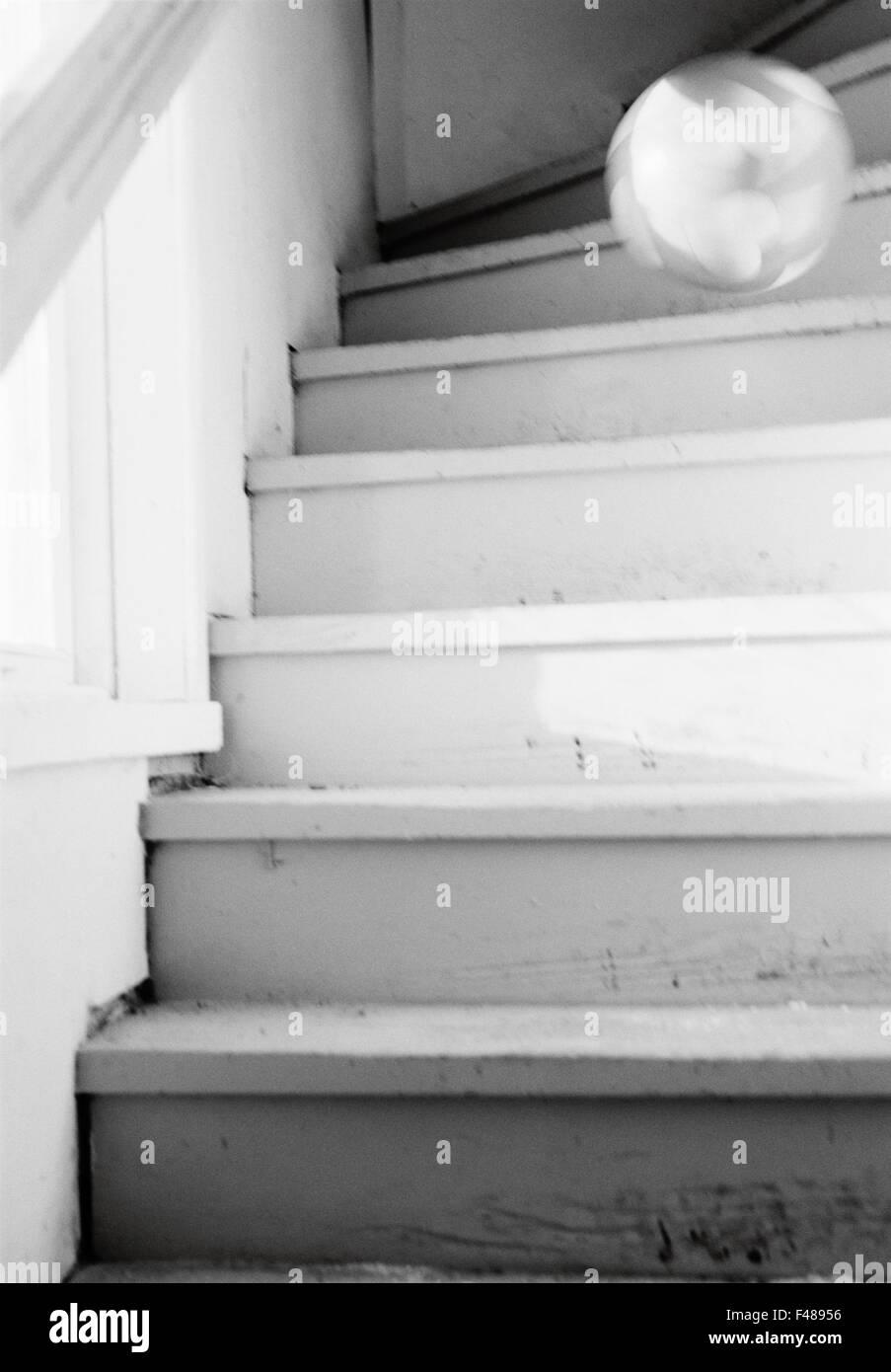 Un bal en bas de l'escalier, la Suède. Photo Stock