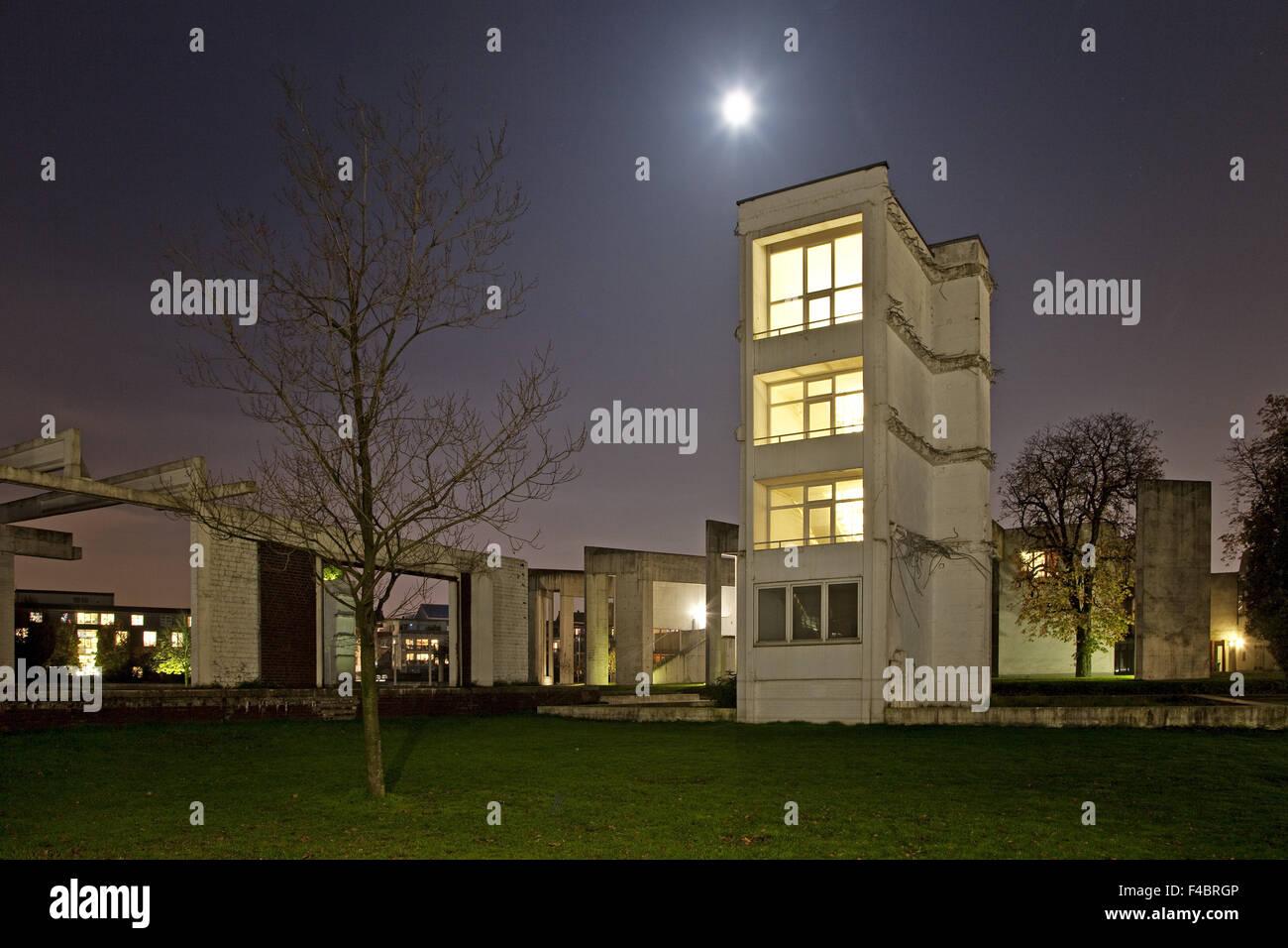 Jardin des souvenirs, Duisburg, Allemagne Photo Stock