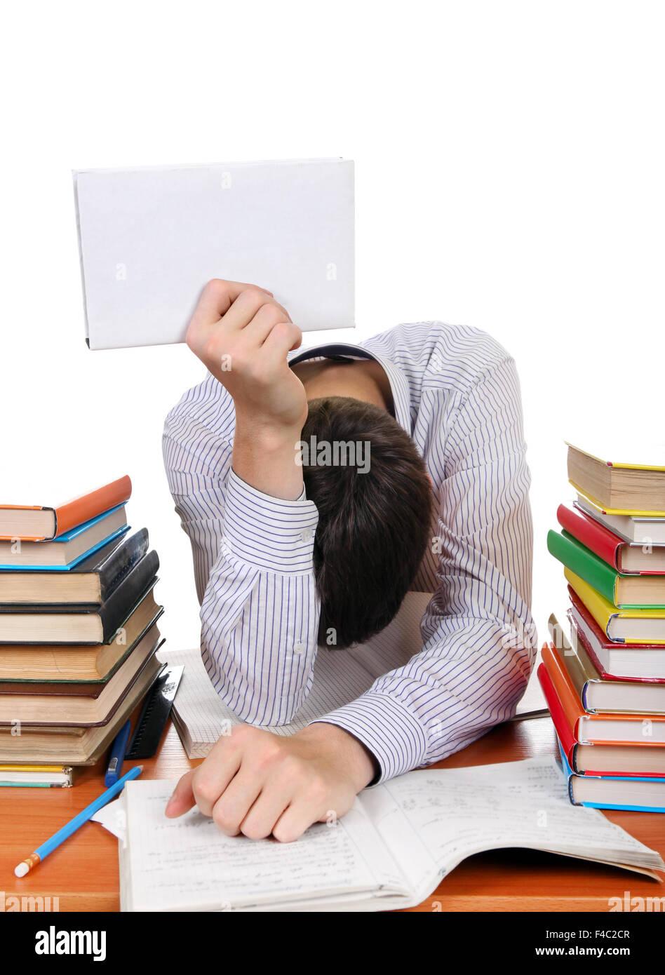 Étudiants fatigués Photo Stock