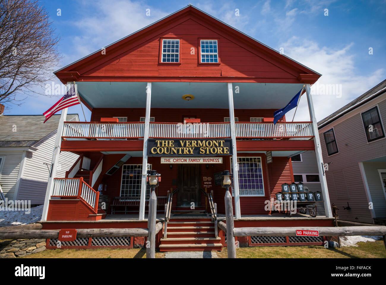 Weston, le Vermont Country Store, extérieur Banque D'Images
