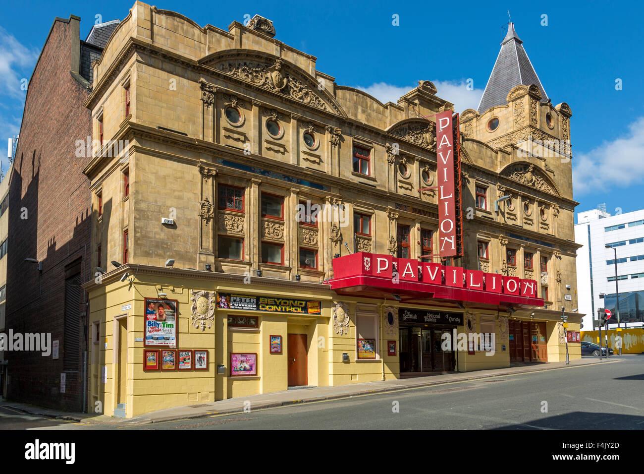Pavilion Theatre, Renfield Street, centre-ville de Glasgow, Écosse, Royaume-Uni Banque D'Images