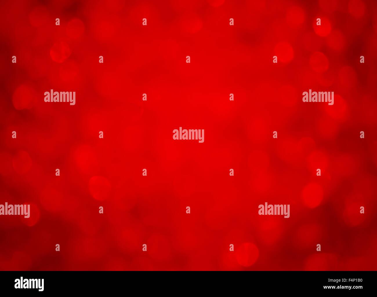 Effet de flou d'arrière-plan rouge Photo Stock
