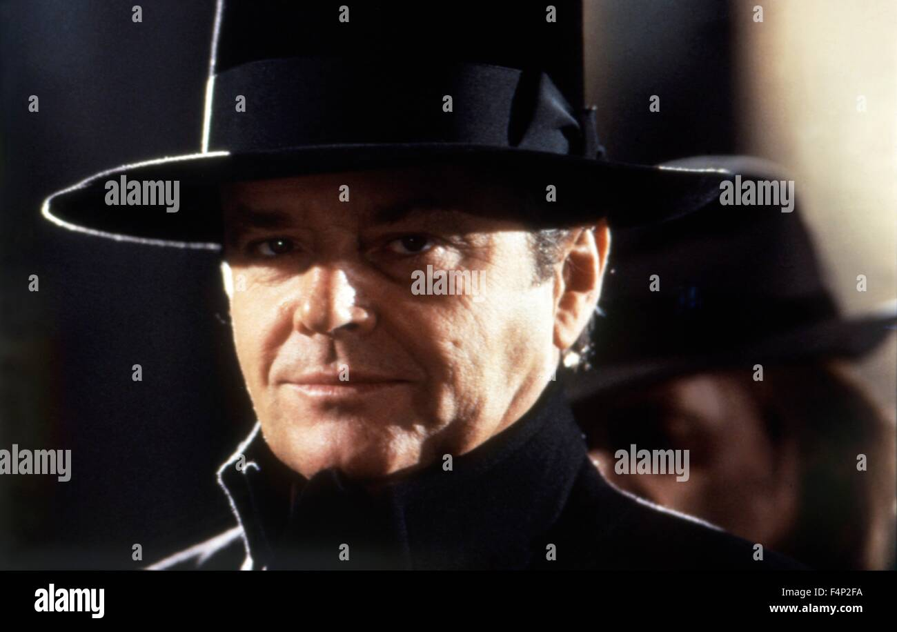 Jack Nicholson / 1989 Batman réalisé par Tim Burton Photo Stock