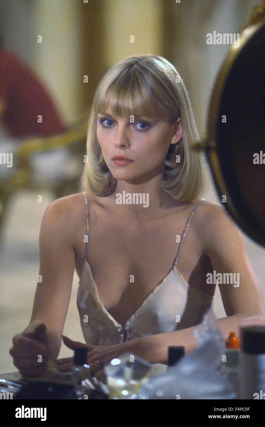 Michelle Pfeiffer / Scarface 1983 réalisé par Brian De Palma Photo Stock