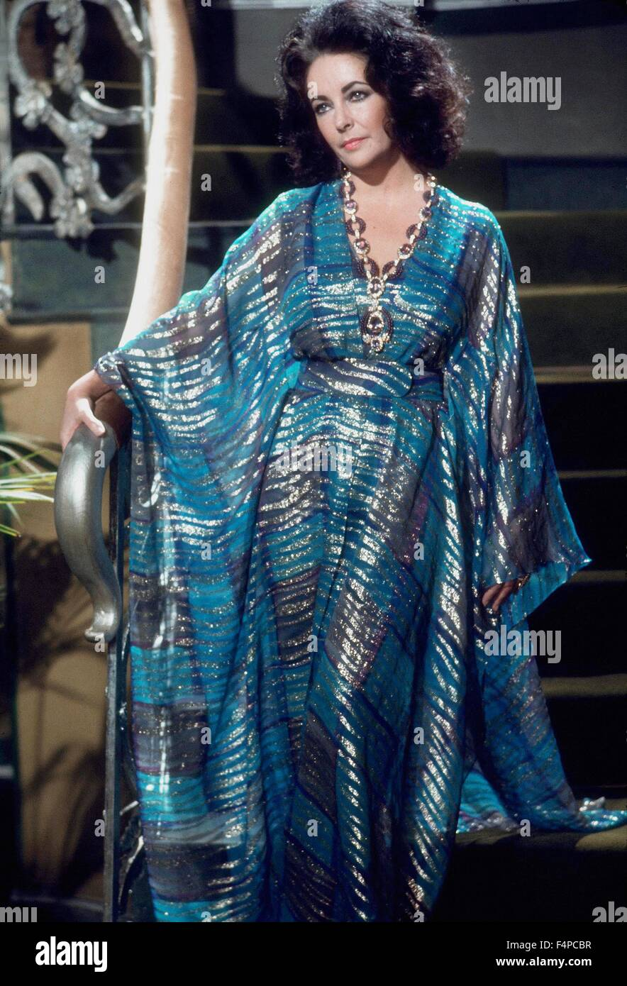 Elizabeth Taylor / That's Entertainment! 1974 réalisateur-producteur-scénariste: Jack Photo Stock