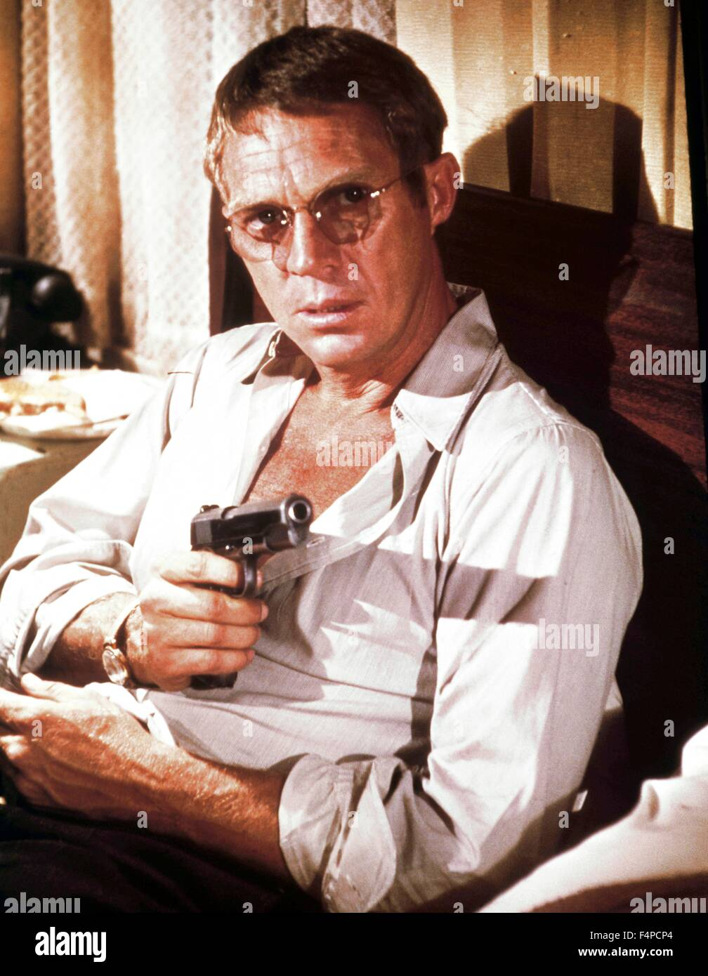 Steve McQueen / The Getaway 1972 réalisé par Sam Peckinpah Photo Stock