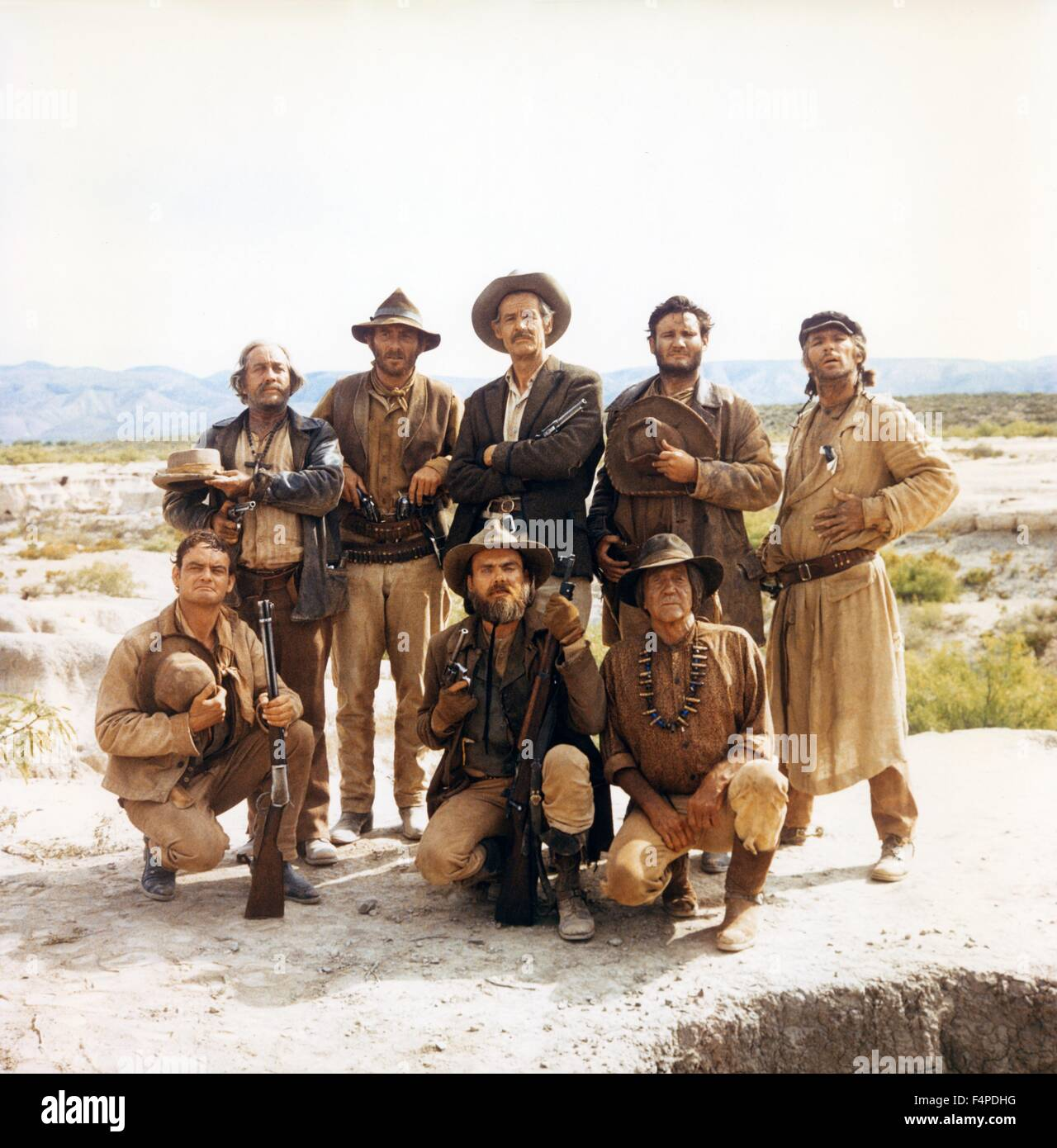 Robert Ryan / The Wild Bunch 1969 réalisé par Sam Peckinpah Photo Stock