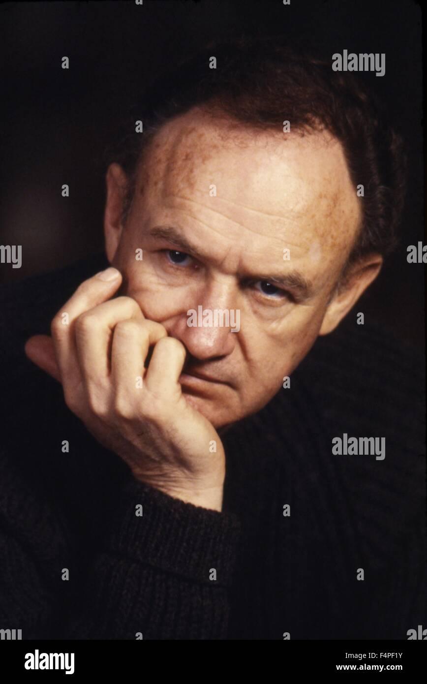 Gene Hackman / Cible / 1985 réalisé par Arthur Penn Photo Stock