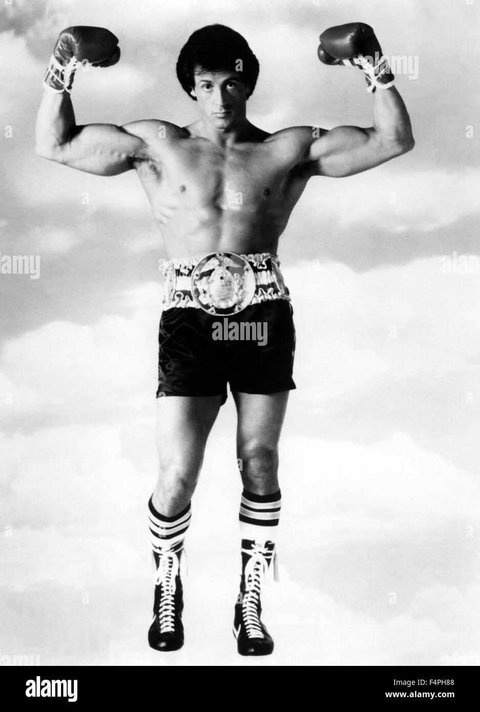Sylvester Stallone / Rocky III / 1982 réalisé par Sylvester Stallone Photo Stock