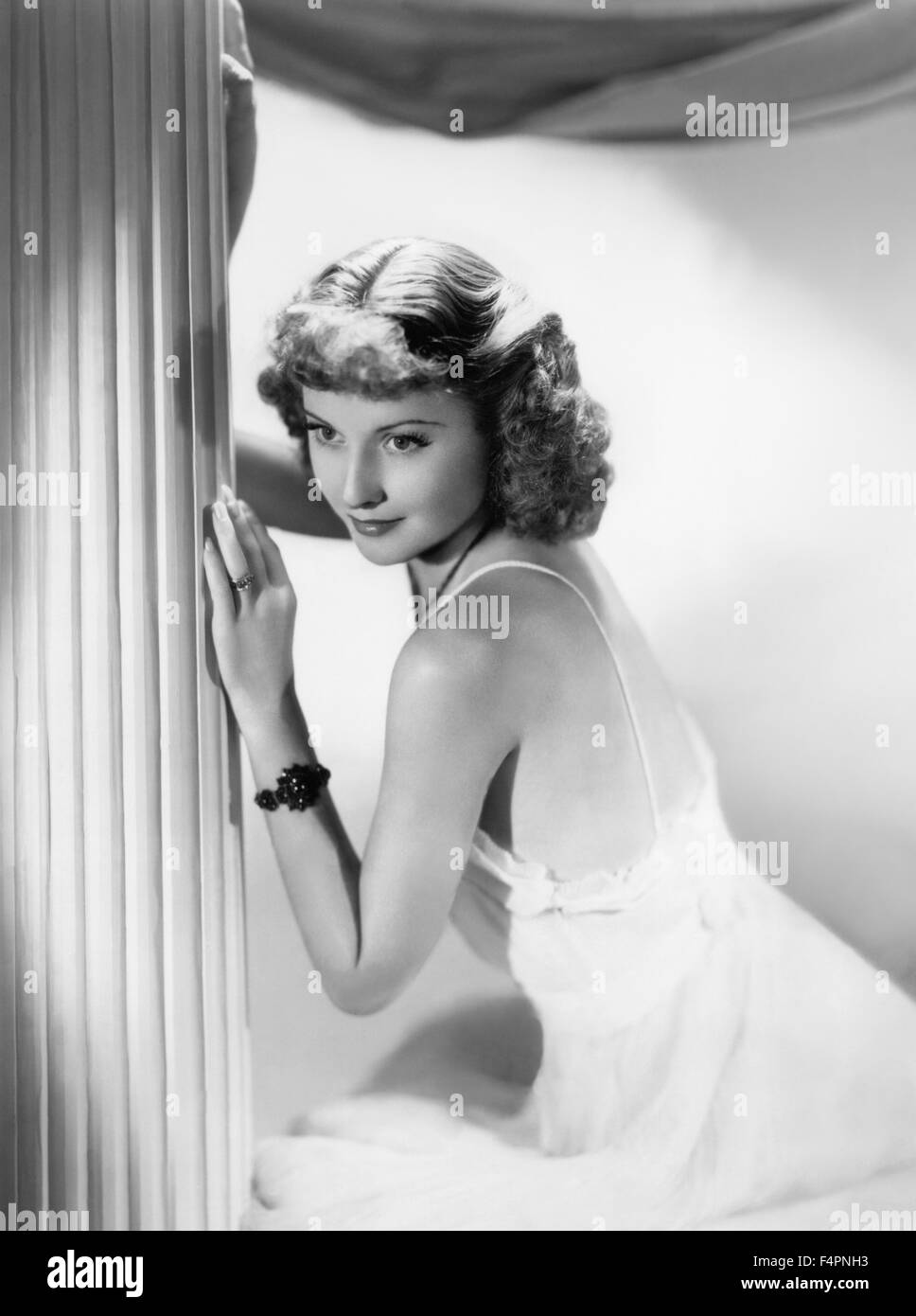 Barbara Stanwyck dans les années 30 Photo Stock