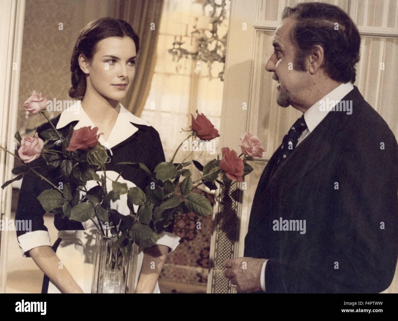 Carole Bouquet et Fernando Rey / cet obscur objet du désir / 1977 réalisé par Luis Bunuel [Greenwich Photo Stock