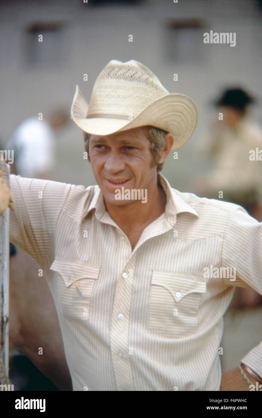 Steve McQueen / Junior Bonner / 1972 réalisé par Sam Peckinpah [ABC Pictures Corporation / Reem] Photo Stock