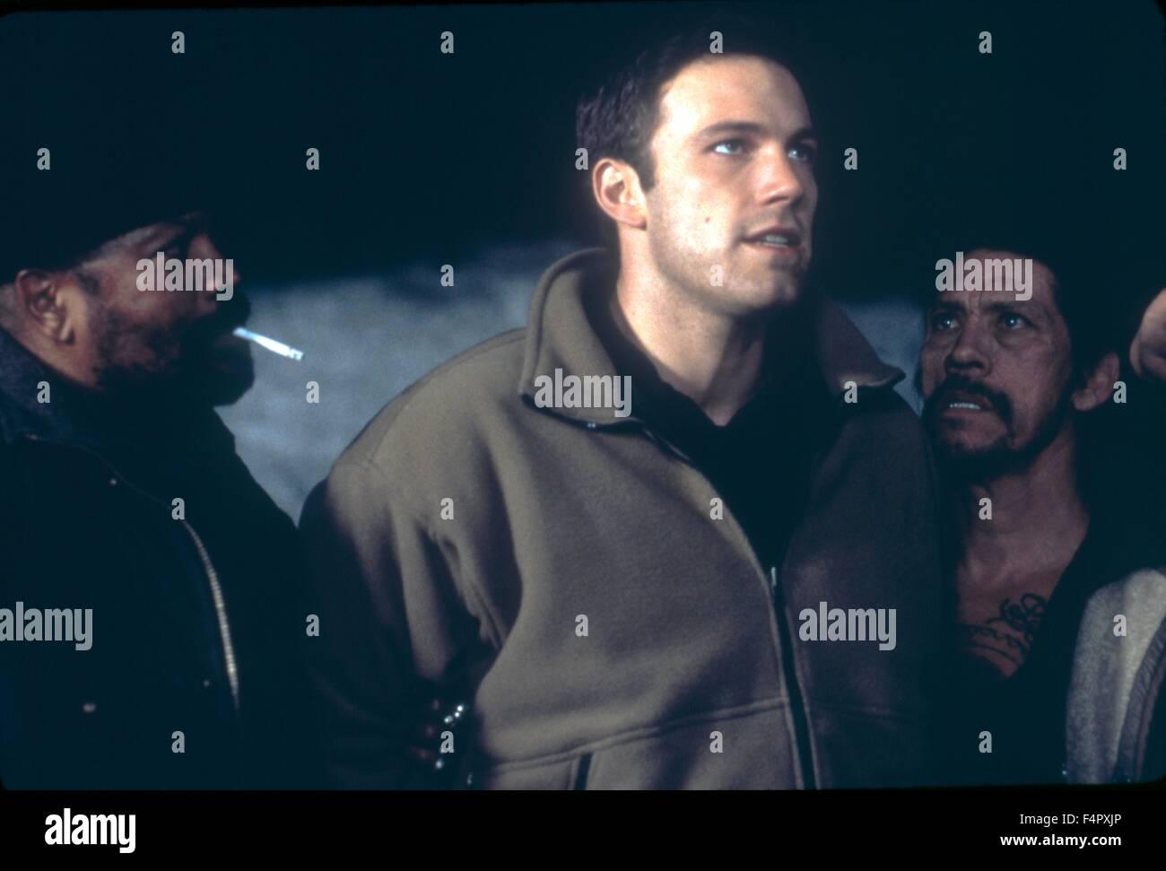 Clarence Williams III, Ben Affleck et Danny Trejo / Jeux de Rennes / 2000 / réalisé par John Frankenheimer Photo Stock