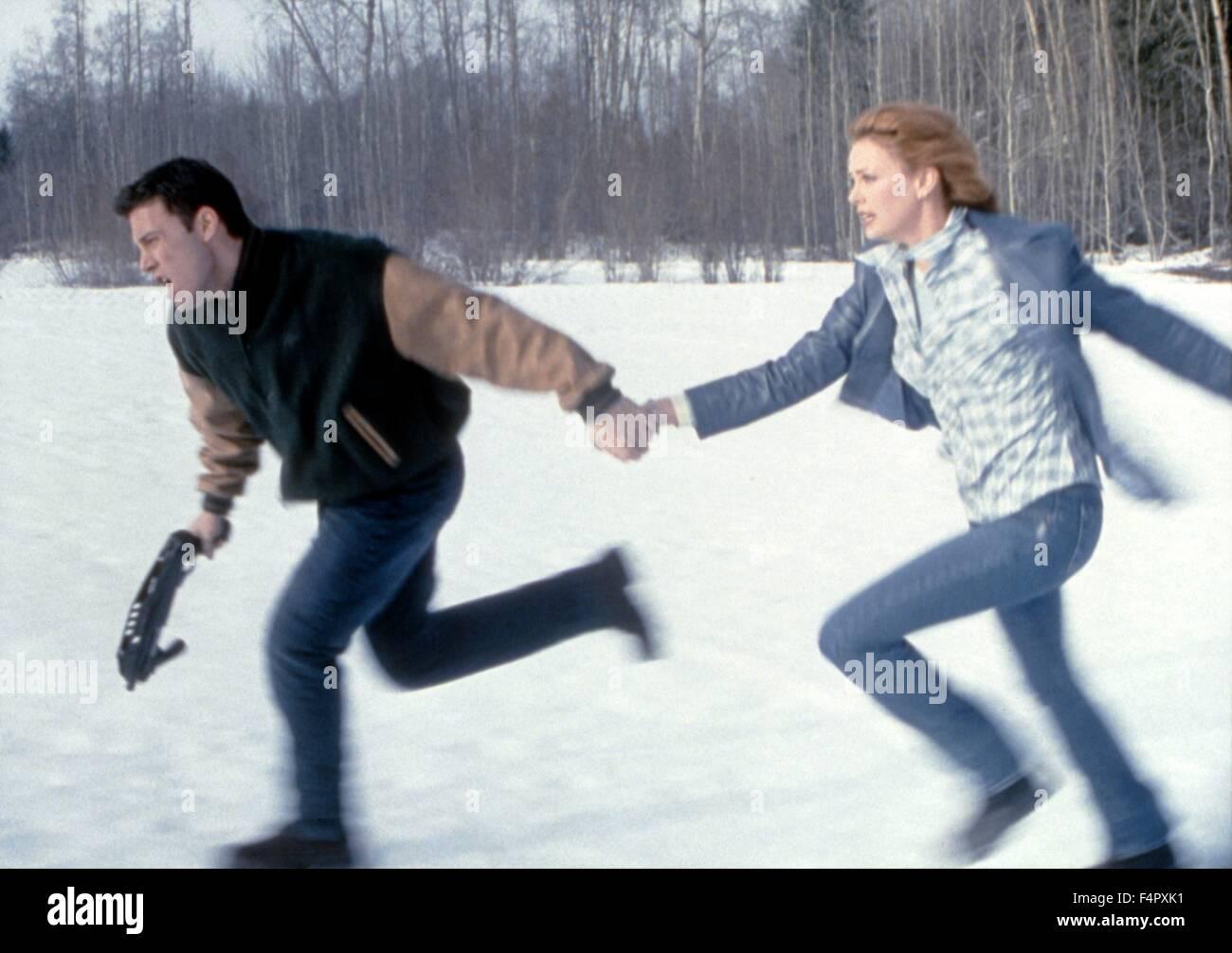 Ben Affleck et Charlize Theron/ Jeux Rennes / 2000 / réalisé par John Frankenheimer / [Dimension Films Photo Stock