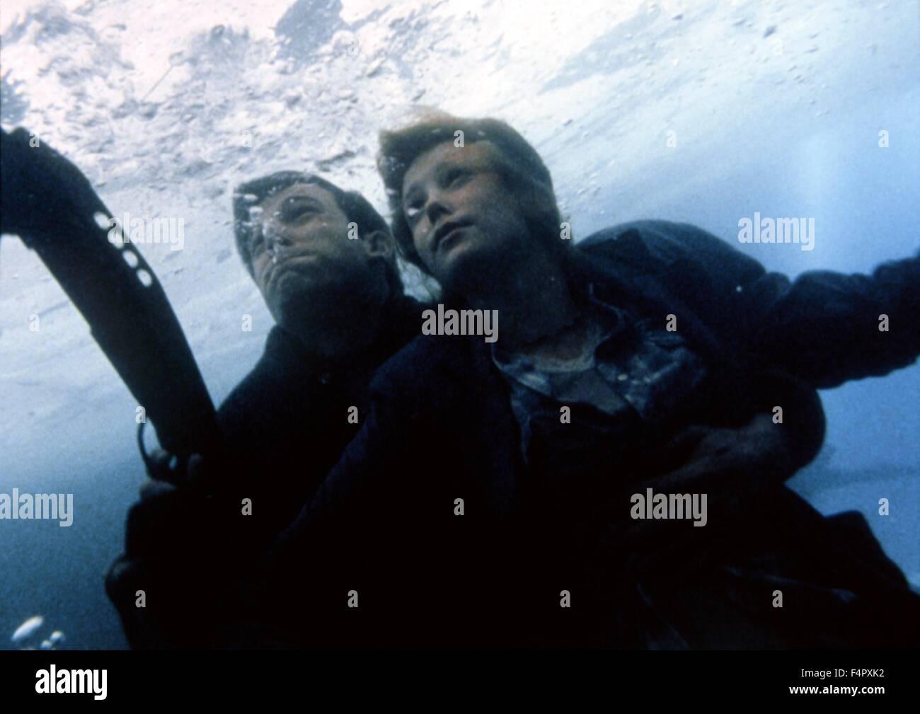 Ben Affleck et Charlize Theron Rennes / Jeux / 2000 / réalisé par John Frankenheimer / [Dimension Films Photo Stock