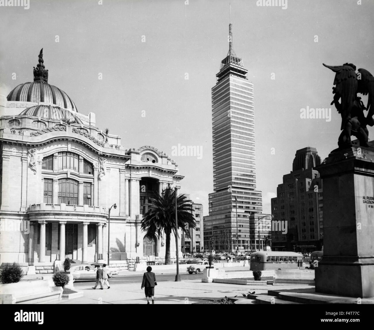 Palais des Beaux Arts, Ville de Mexico, Mexique Photo Stock