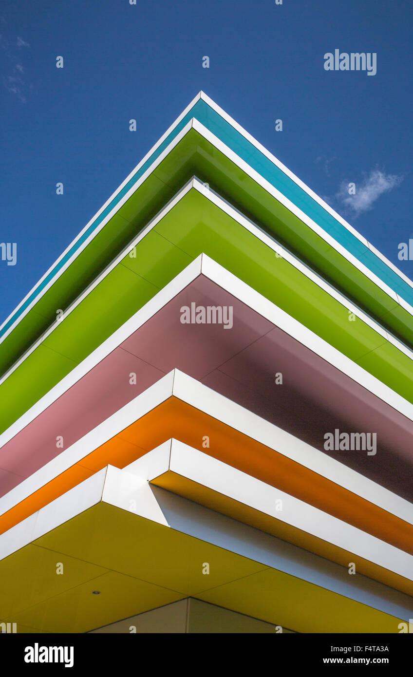 Le Japon, la ville de Tokyo, Sugamo, Bank Building, Emmanuelle Moureaux architecte Photo Stock