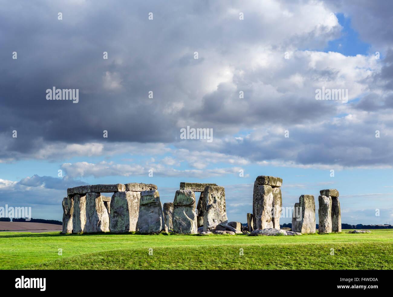 Stonehenge, près de Amesbury, Wiltshire, England, UK Photo Stock