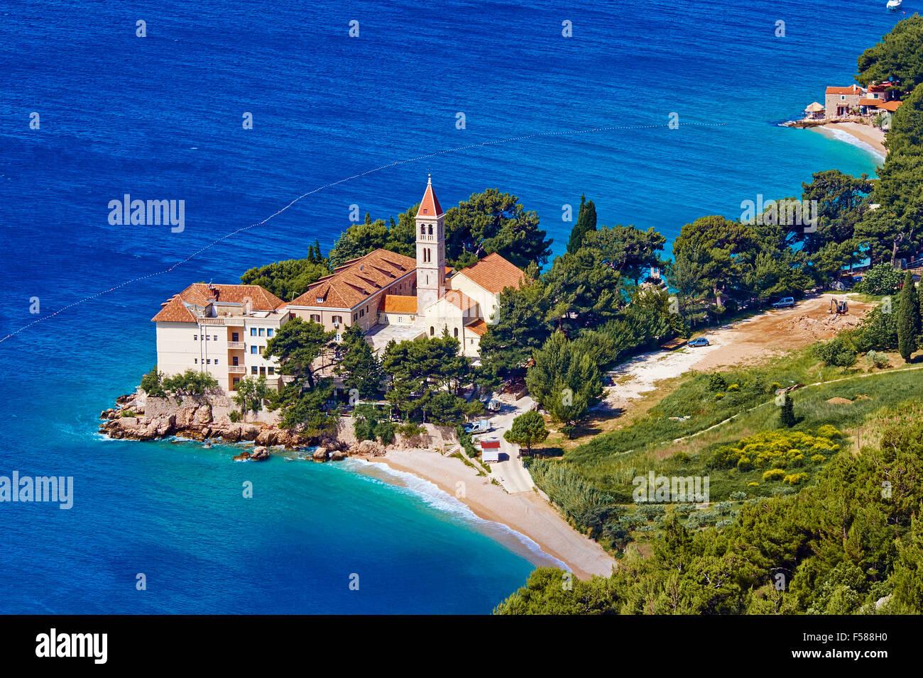 La Croatie, Kvarner, île de Brac, Supetar Photo Stock