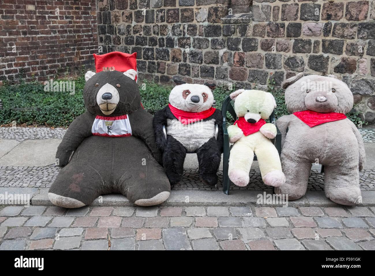 Buddy Bear porte clé Squares Berlin Ours nouveau de Berlin Ours souvenir