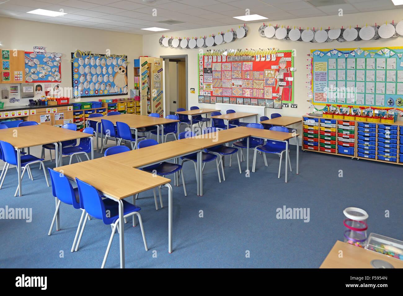 Une salle de classe dans un nouveau site uk junior school salons