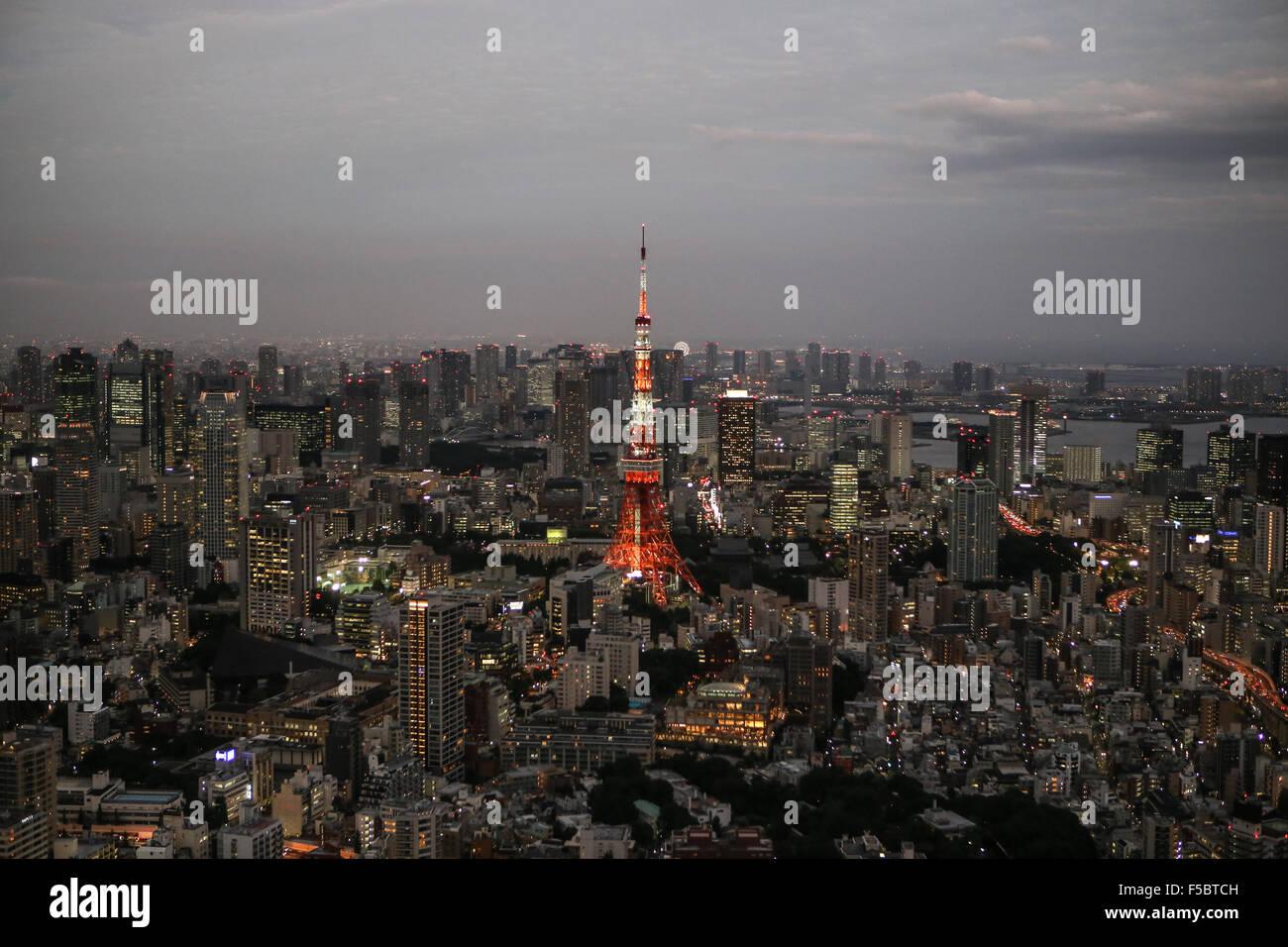 La tour de Tokyo Photo Stock