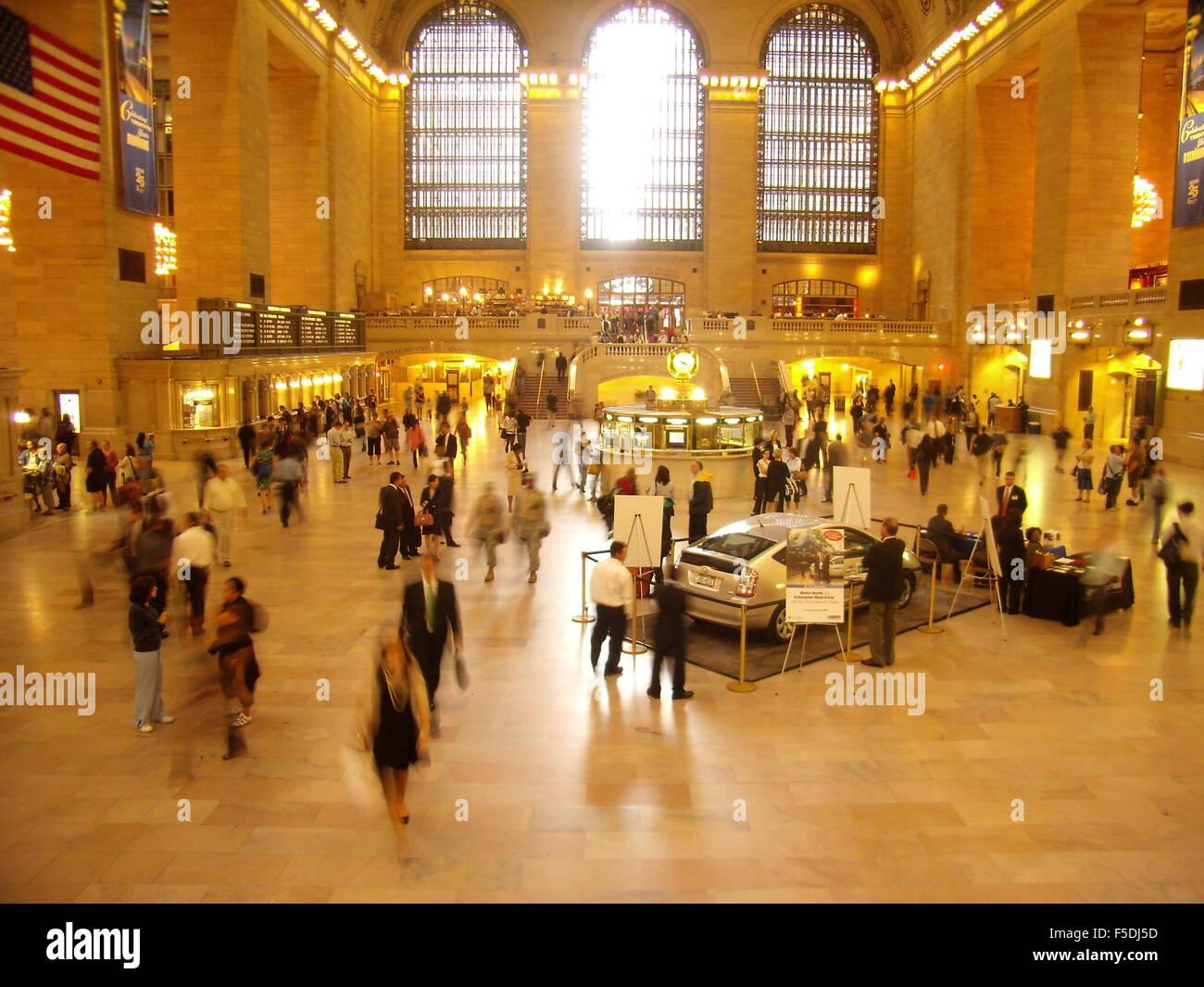 Grand Central Station, New York City, Etats-Unis, USA. Photo Stock
