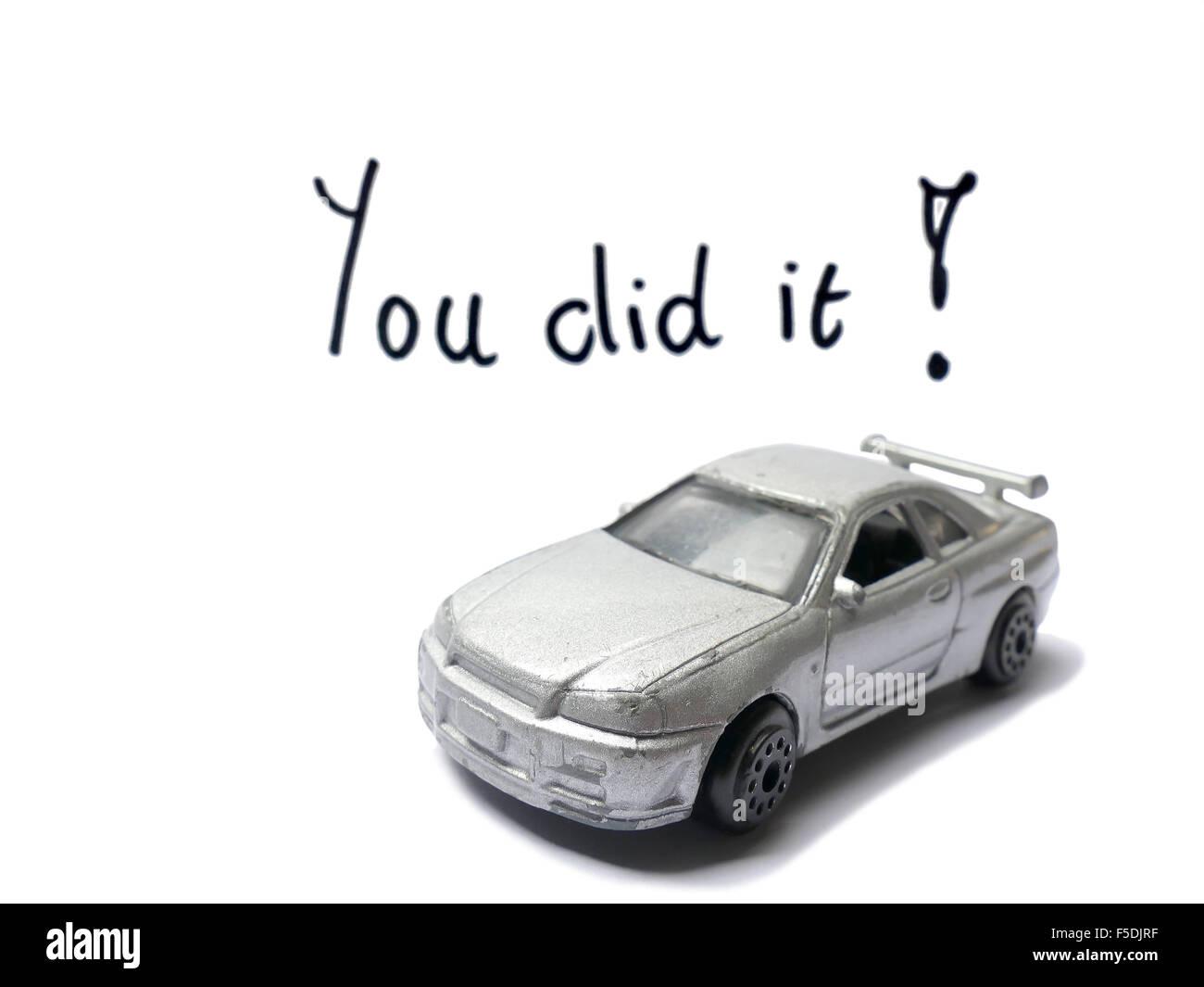 Jouet Ancien Félicitations De Permis Conduire Modèle Voiture Avec 0OPXZNw8nk