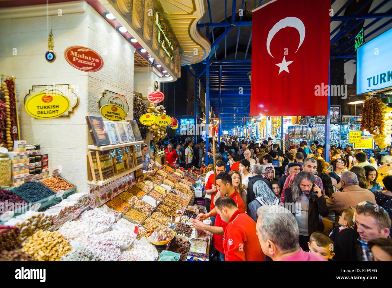 c3891f50a269 Le Grand Bazar (Kapali Carsi), le plus grand marché à Istanbul, Turquie
