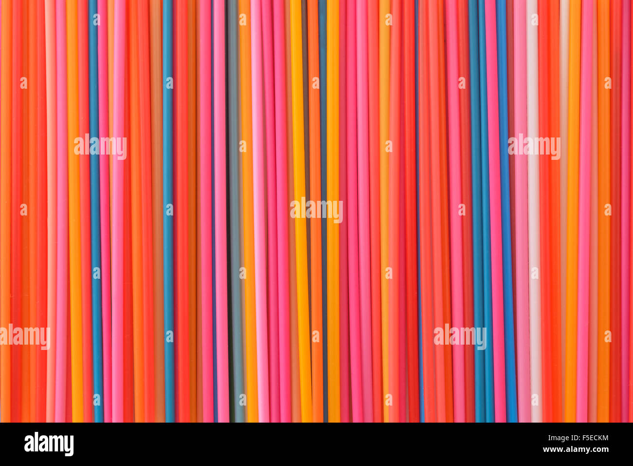 Des lignes colorées background seamless texture Photo Stock