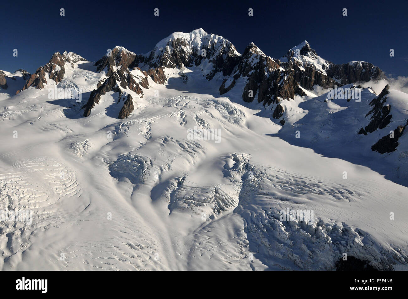 Ou l'Aoraki Mount Cook National Park, plus haut sommet de Nouvelle-Zélande, île du Sud, Nouvelle-Zélande Banque D'Images