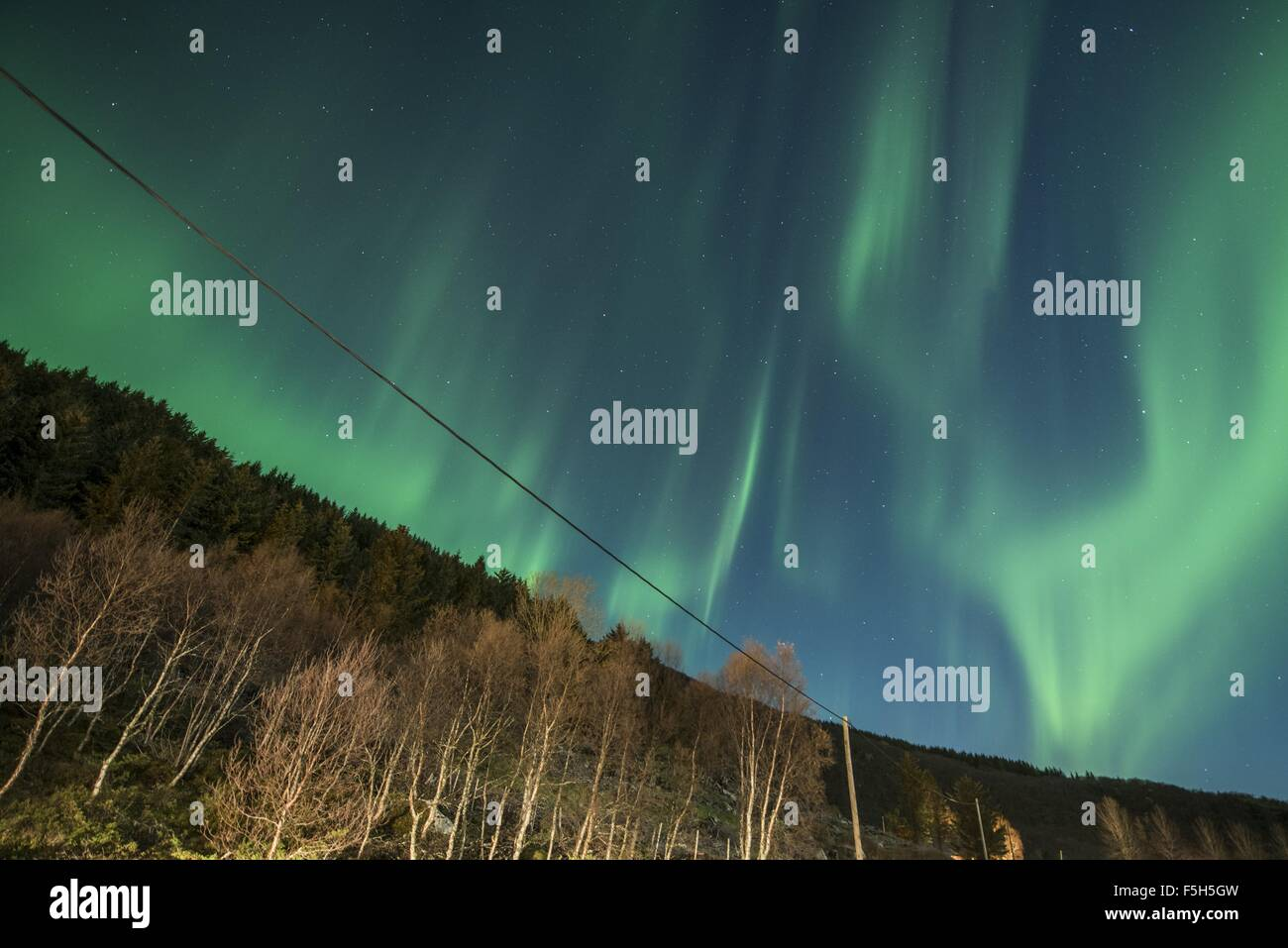 Northern Lights Photo Stock