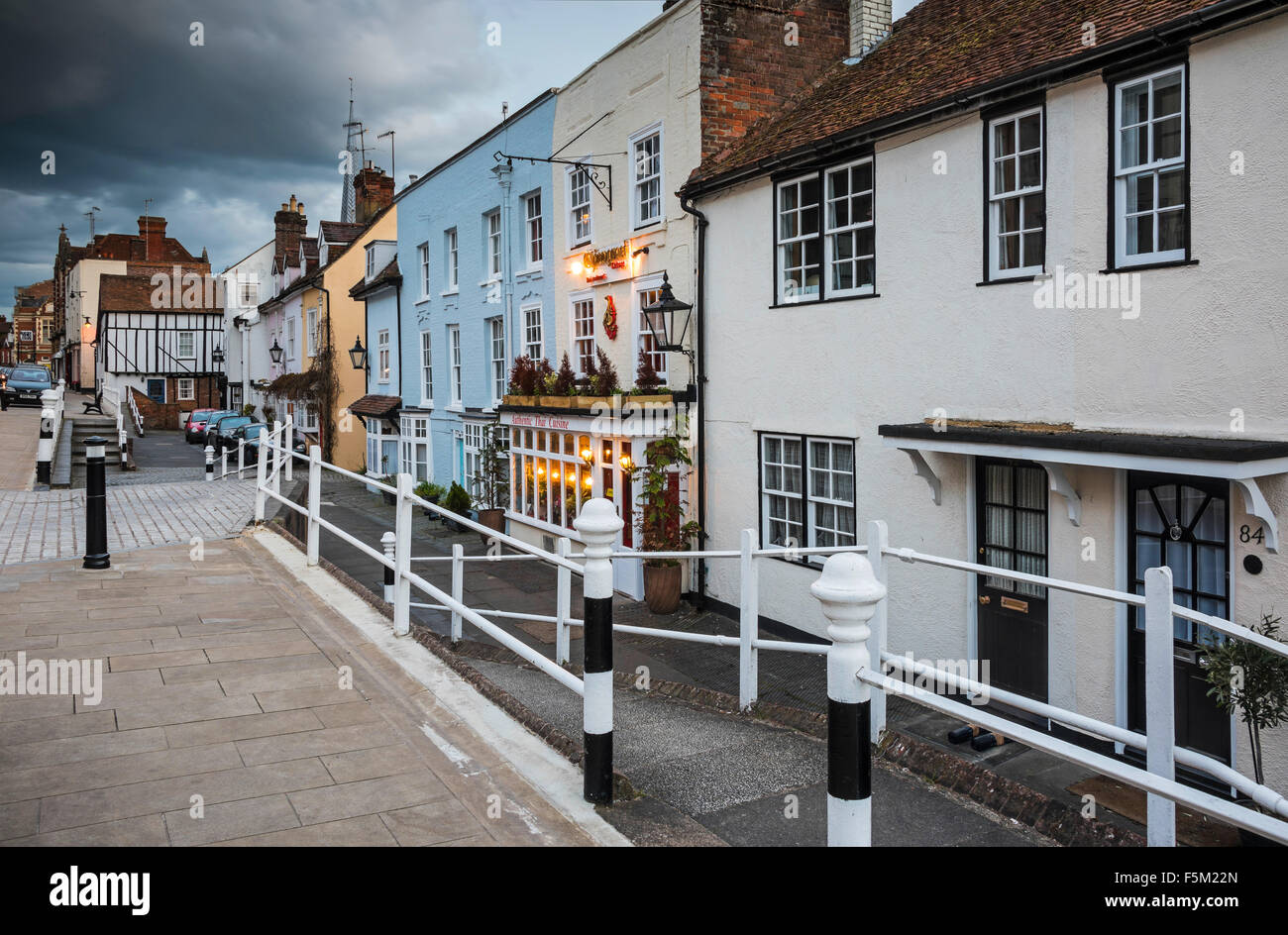 Vieux Hemel High Street Photo Stock