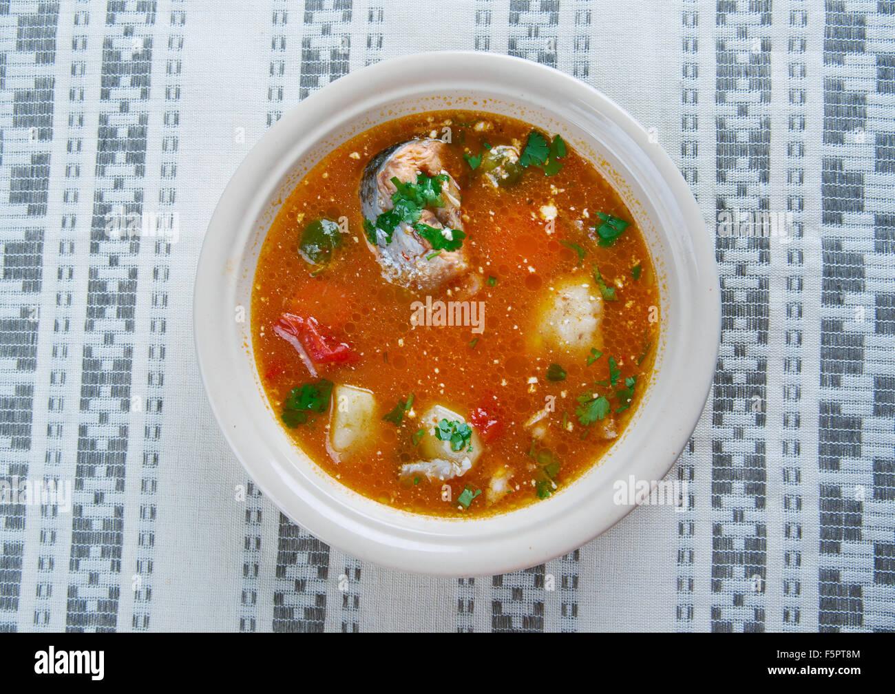 Caldo De Peixe Soupe De Poisson De L Angola Cuisine Africaine