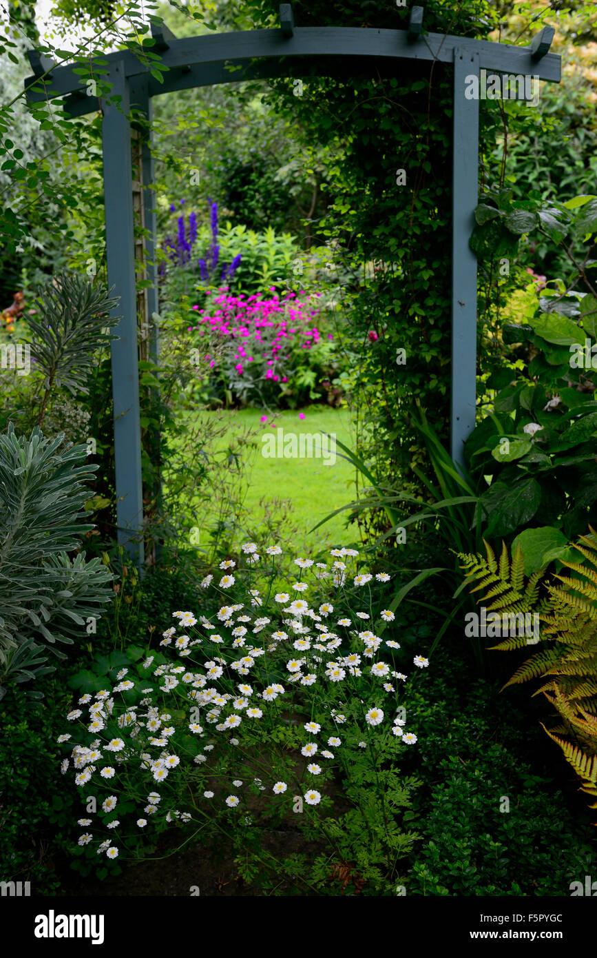 Jardin Bois Pergola En Bois Separant La Separation D Entree