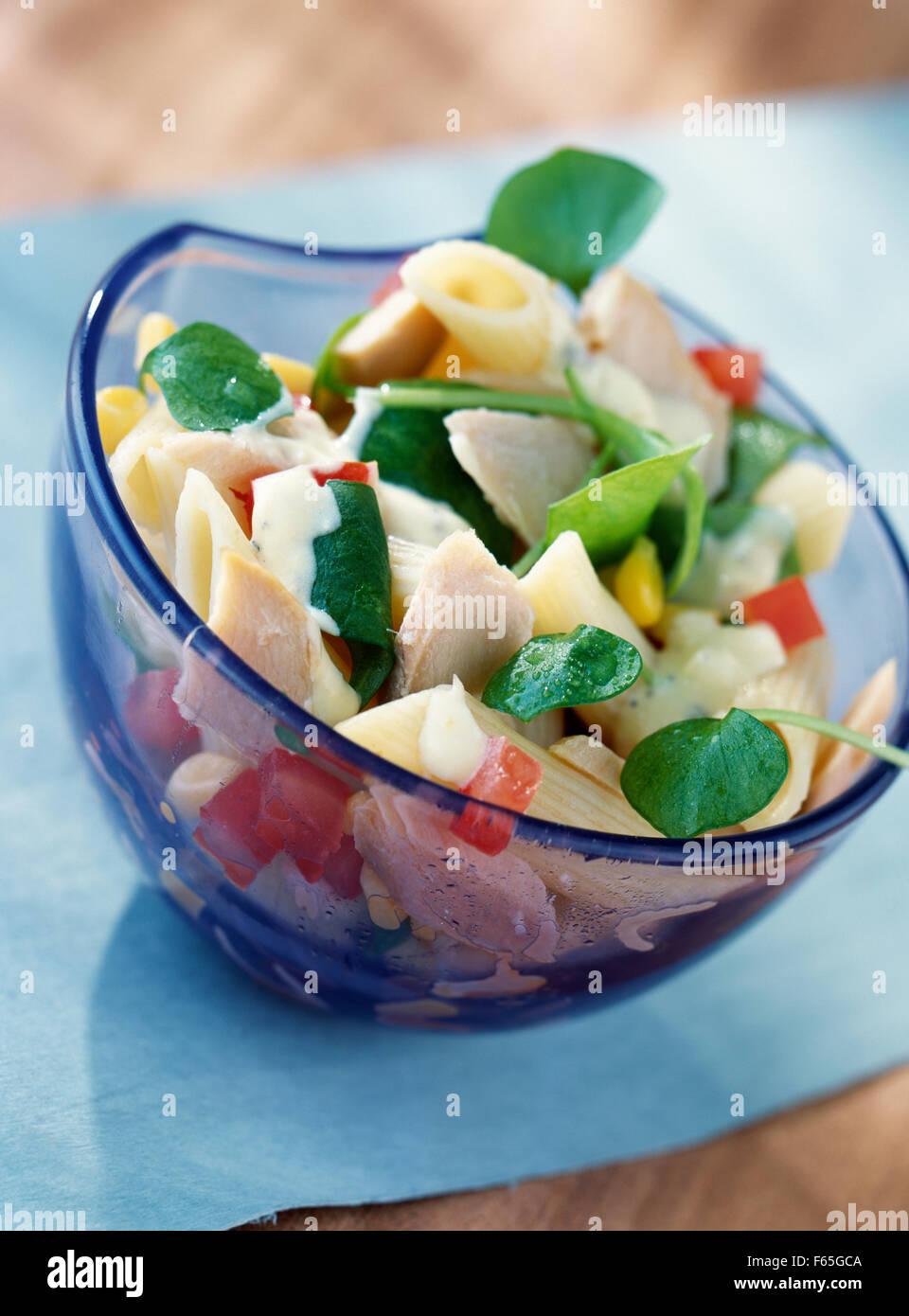 Salade d'été (sujet: des salades) Banque D'Images