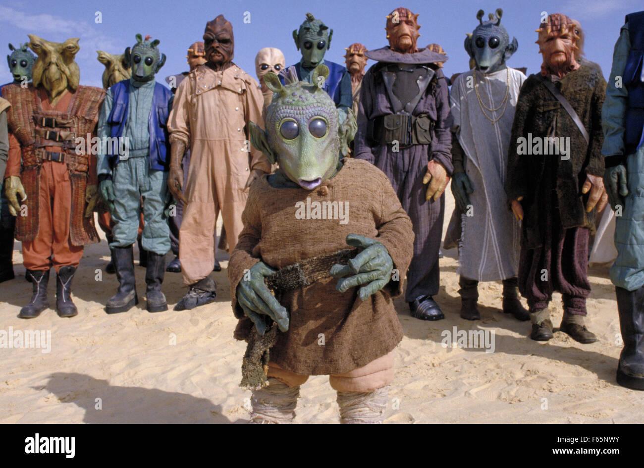 Star Wars: épisode I - La Menace Fantôme Année: 1999 USA Réalisation: George Photo Stock