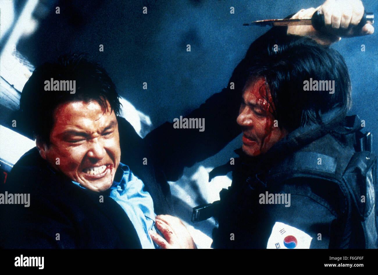 13 févr., 1999; Séoul, Corée du Sud; SUK-KYU HAN (à gauche) comme JongWon Yu et Photo Stock