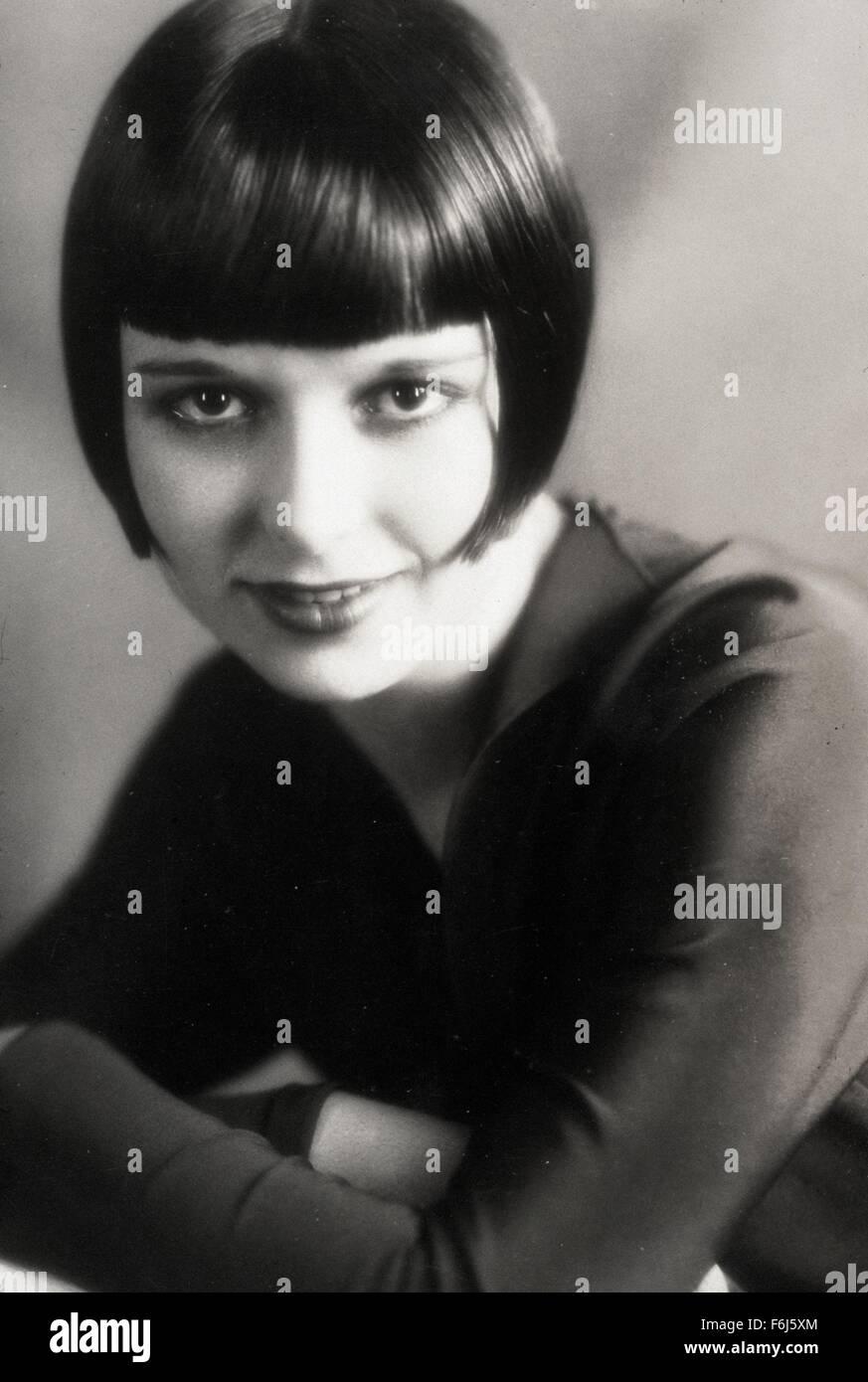 1929, le titre du film: JOURNAL D'UNE FILLE PERDUE, Directeur: G W PABST, sur la photo: LOUISE BROOKS. (Crédit Banque D'Images