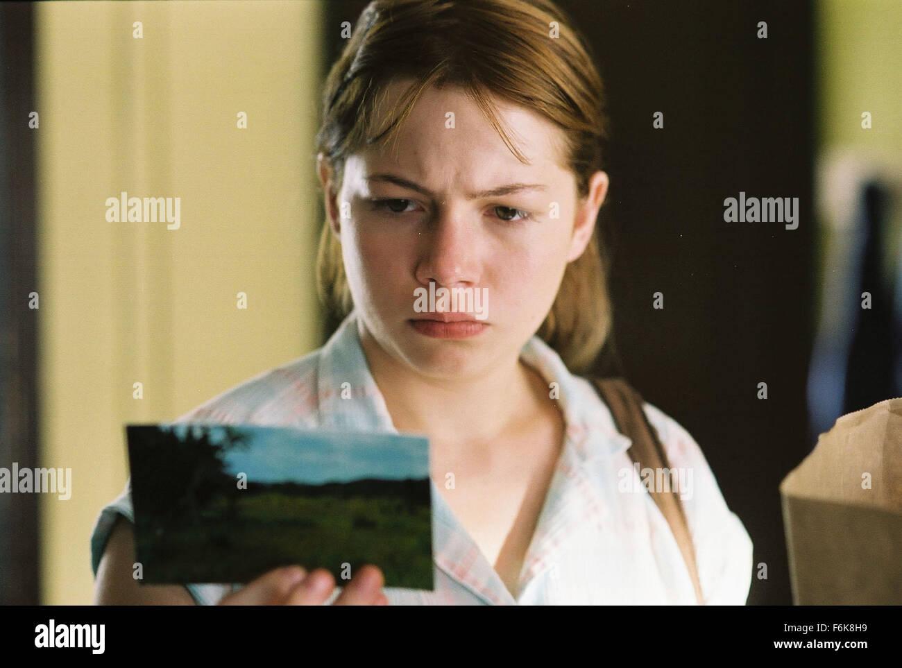 Le 09 décembre, 2005; Calgary, Al, CANADA; l'actrice Michelle Williams stars comme Alma Del Photo Stock