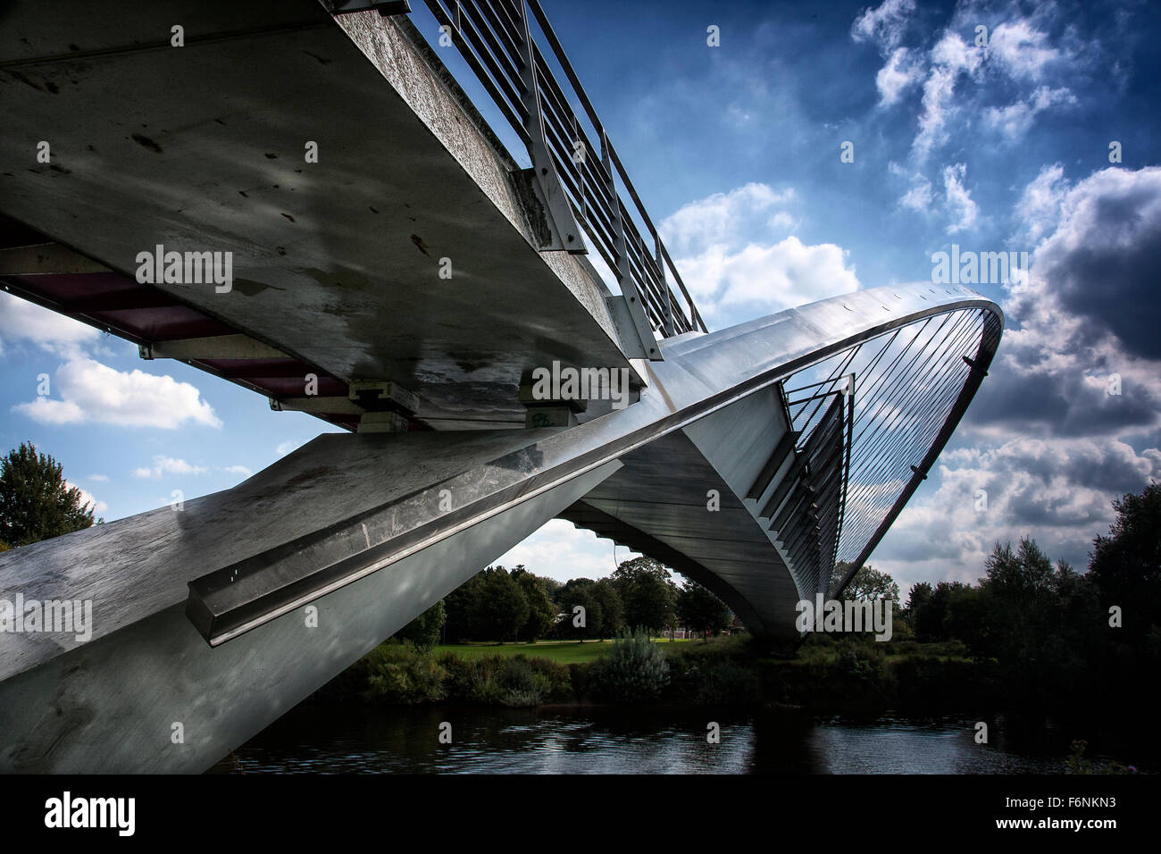Millenium Bridge York, UK Photo Stock
